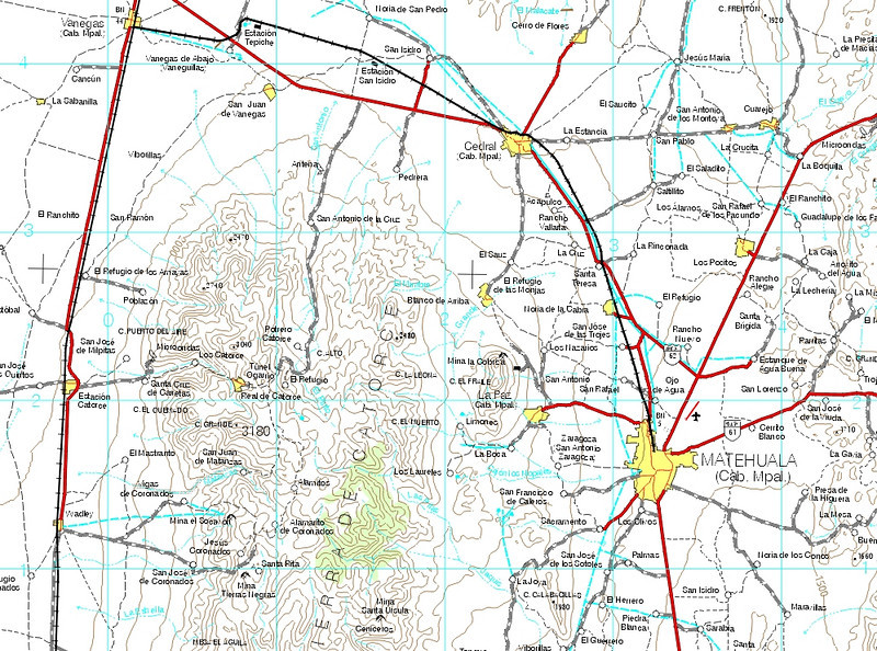 free online Mexico topo maps – Topographic Map Mexico