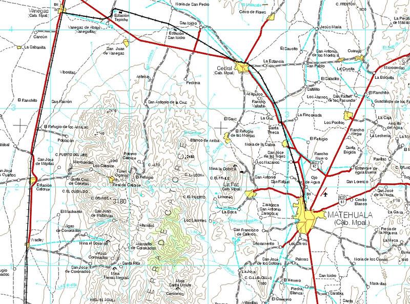 free online mexico topo maps